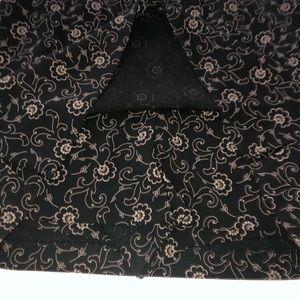 Banana Republic Shorts - Banana republic black Floral skirt skort 12